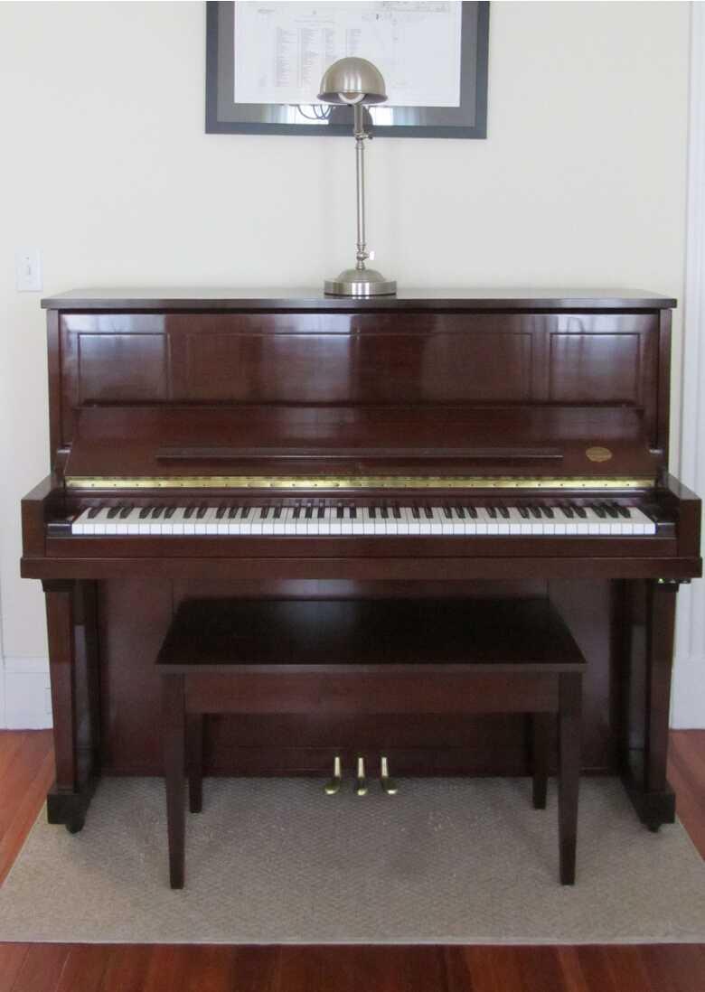 Steinway Model 45 Upright Piano