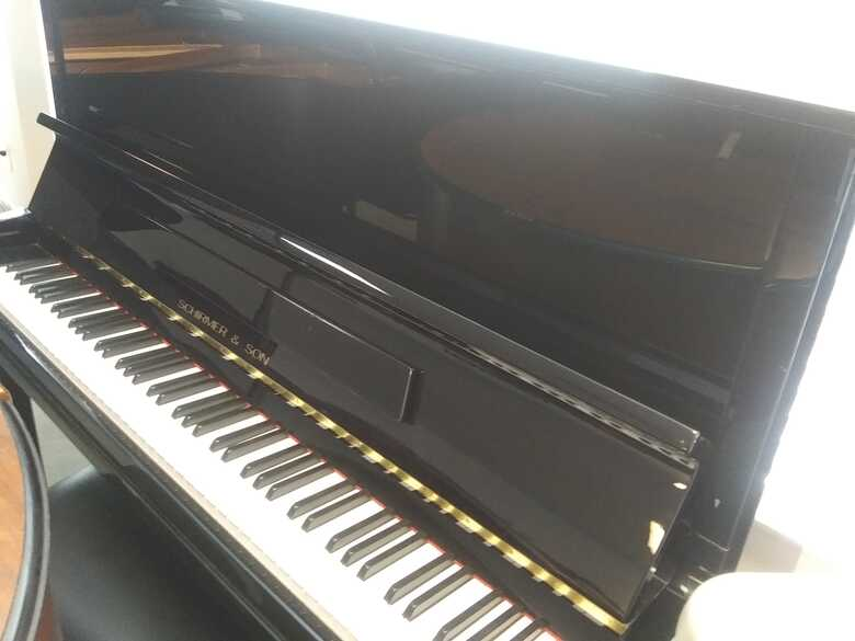 Schirmer & Sons Upright Piano