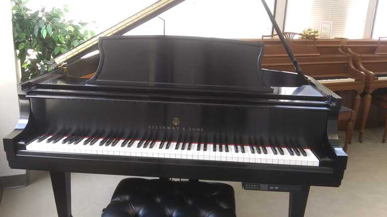 Steinway L Baby Grand w/Pianodisc Player