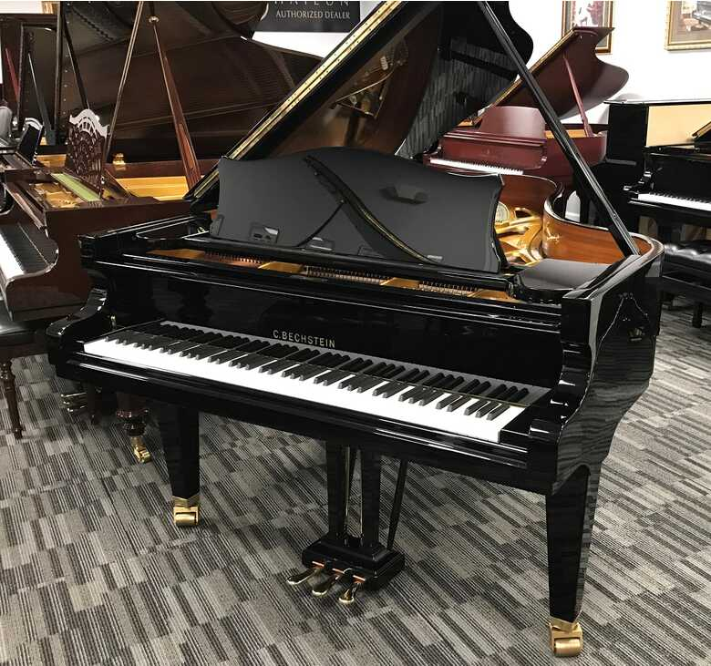 """C Bechstein B 2002 6'10"""" Picarzo Pianos US Delivery VIDEO"""