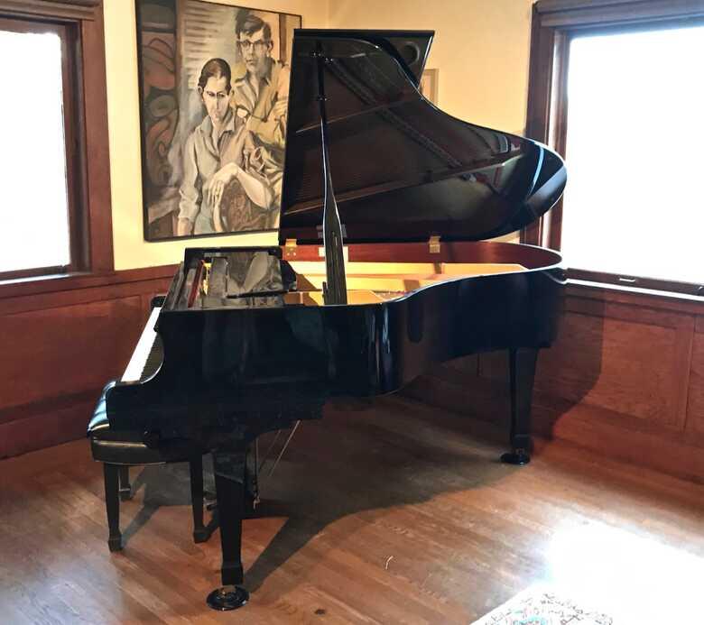 """Price Reduced!!   6'1"""" Kawai Grand Piano...Ebony  $#&*(*"""