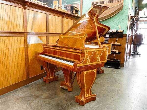 Rare Art-Case Steinway & Sons Grand Piano Model B