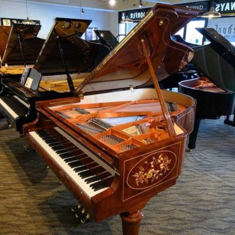 Schimmel W180 – Royal Intarsie Grand Piano