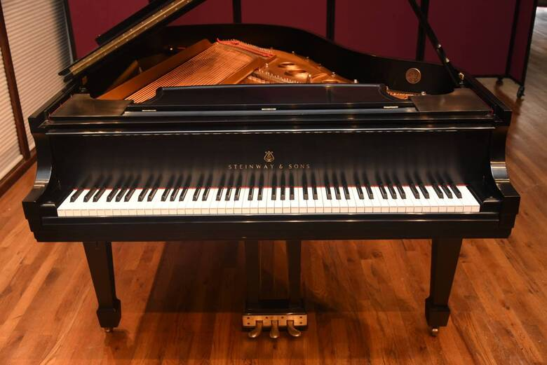 Steinway Model L with Pianodisc Player in Walnut