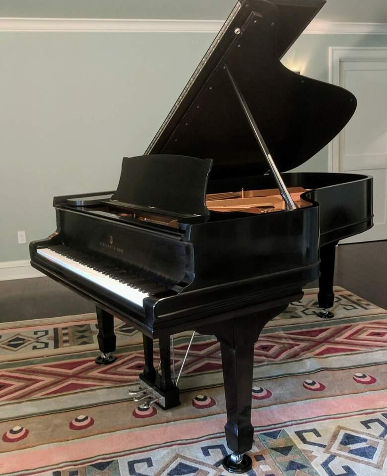 Expertly rebuilt 1886 Steinway B 85-note