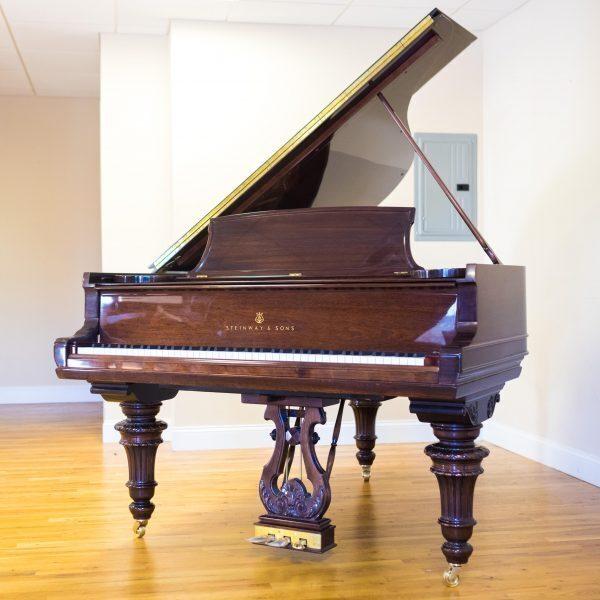 "6'2"" Victorian Steinway A Newly Rebuilt"