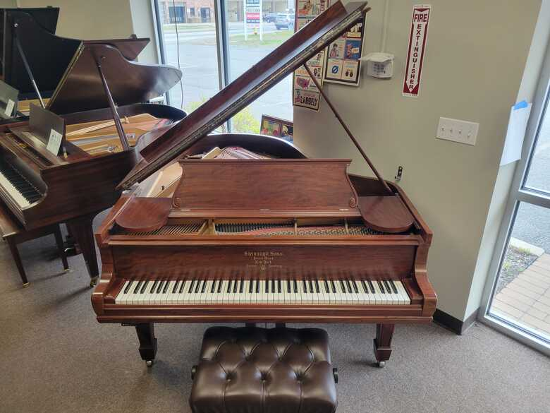 Steinway O Baby Grand Piano with New QRS Player Piano System