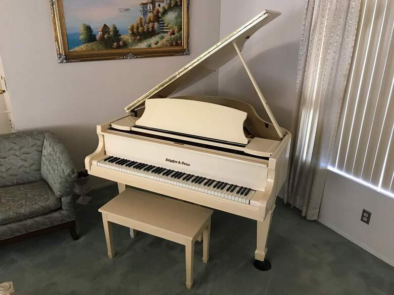 Schafer and Sons Baby Grand - Original Owner