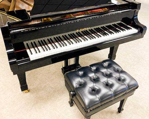 new in 2000 KAWAI RX-6 / 7-foot Grand Pianos