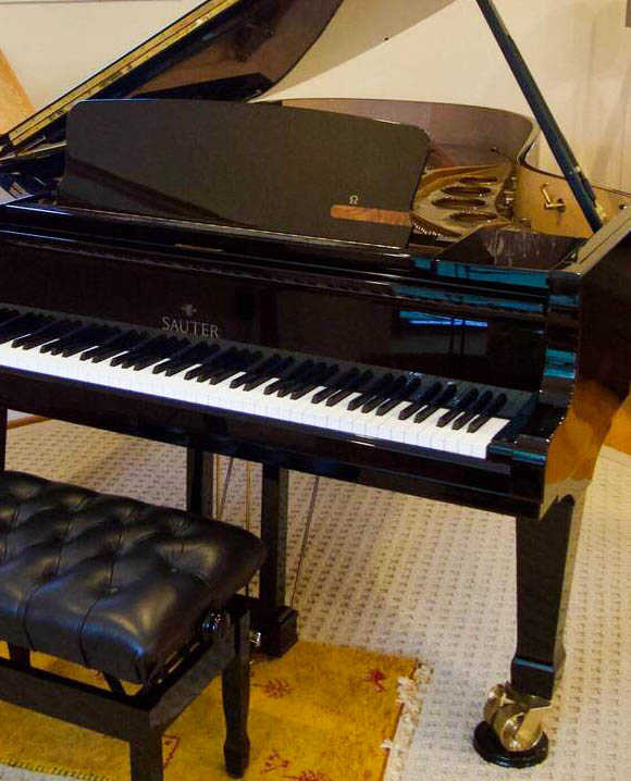 one-owner, low-use SAUTER Model 220 OMEGA Semi Concert Grand