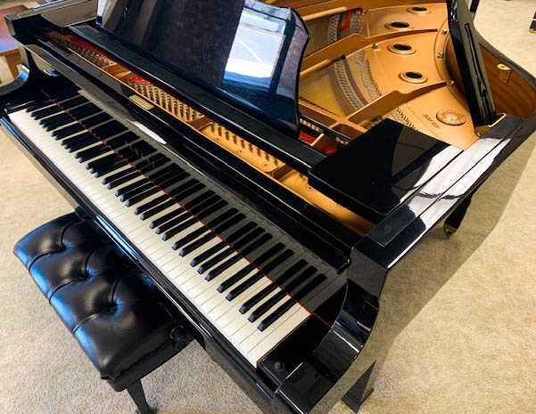 showroom clean YAMAHA C6 Grand Piano
