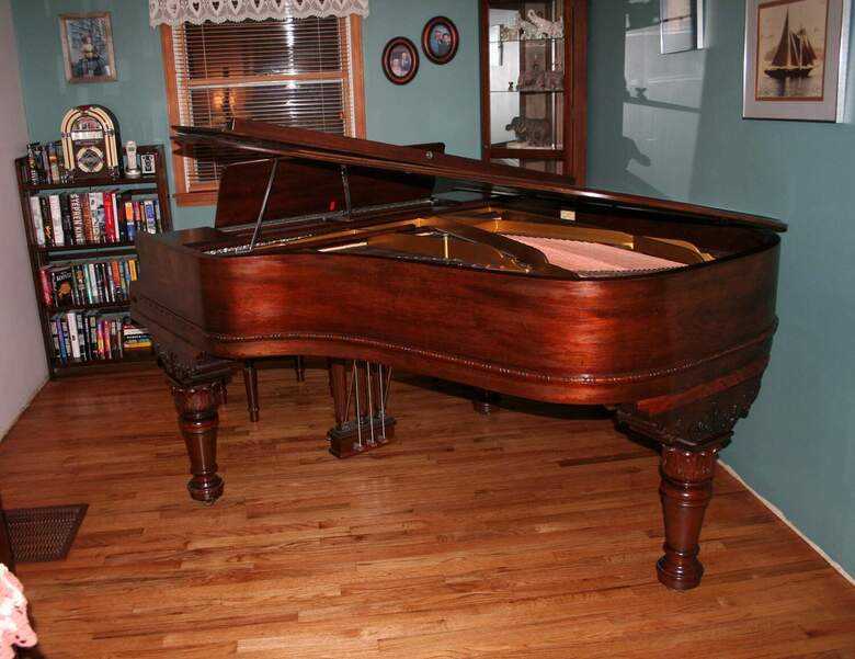Well Maintained great sounding and playing grand piano