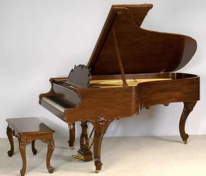 Defining Elegance….Steinway & Sons Louis XV, Model B