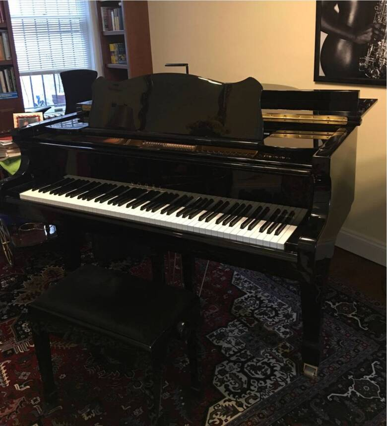 "Vogel by Shimmel 5'10"" Grand Piano Ebony - Or Best Offer"