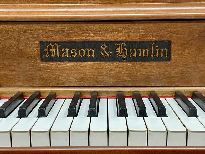 Rebuilt Mason Hamlin Screw Stringer Grand