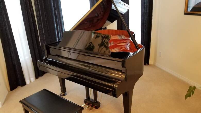 "Nordiska 6'1"" Grand Piano in Excellent Condition"