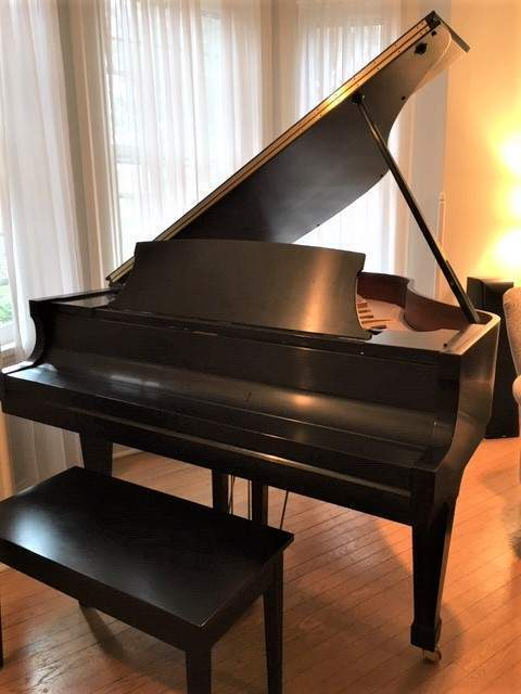 """12 year old Steinway Boston grand, 5'10"""", great condition"""