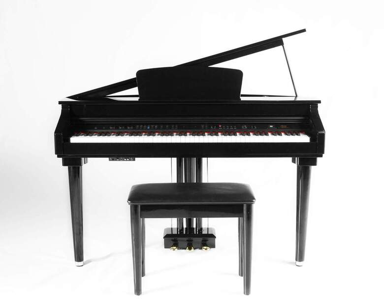 New Digital Micro Grand Piano by Artesia