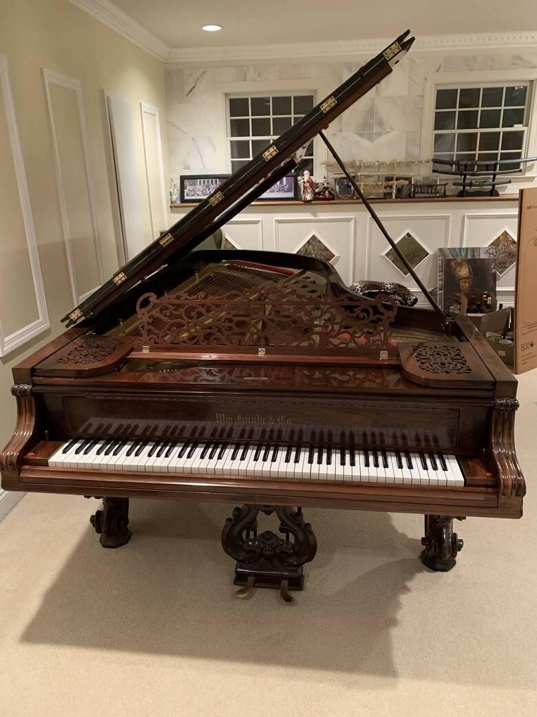 Knabe Concert Grand Piano, Mahogany, 1880, 9 ft