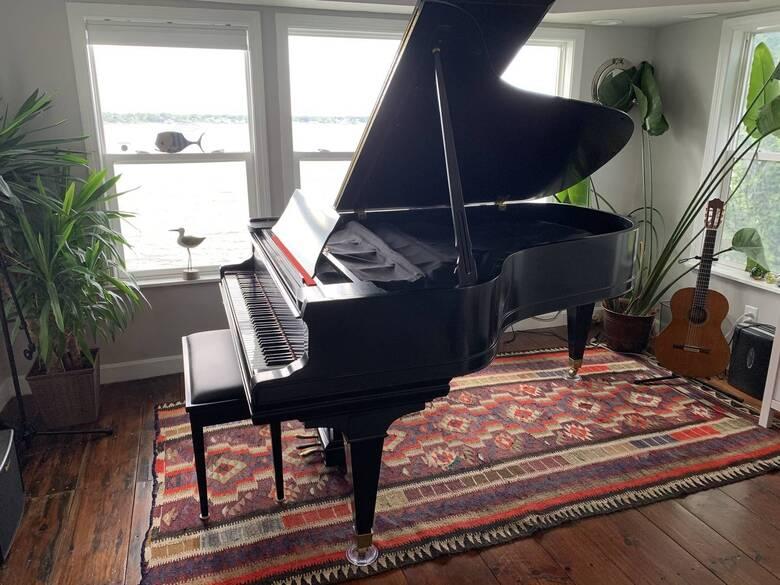 Vintage Mason & Hamlin Grand Piano