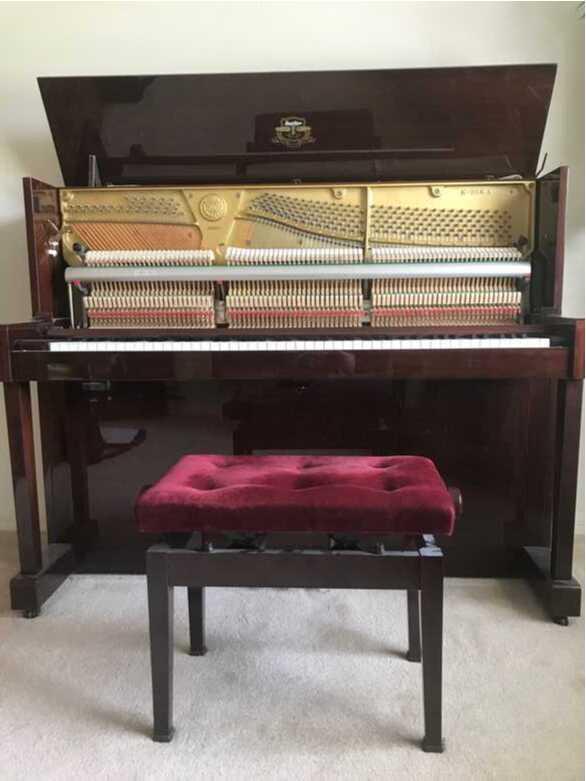 2003 Kawai Mahogany Upright Piano