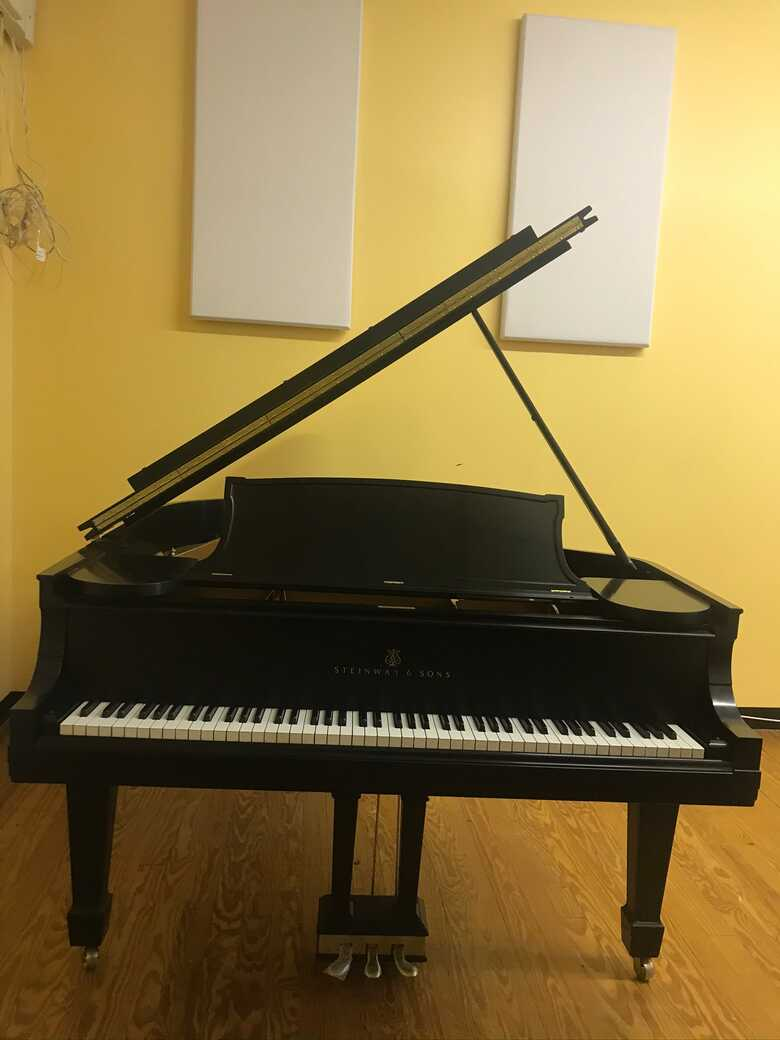 Complete rebuilt Steinway Model O. From 1910