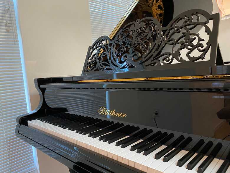 Immaculate, historic Blüthner grand piano (with video!)