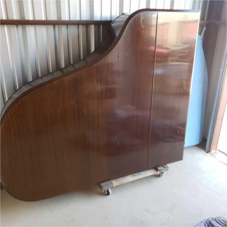 very nice grand piano