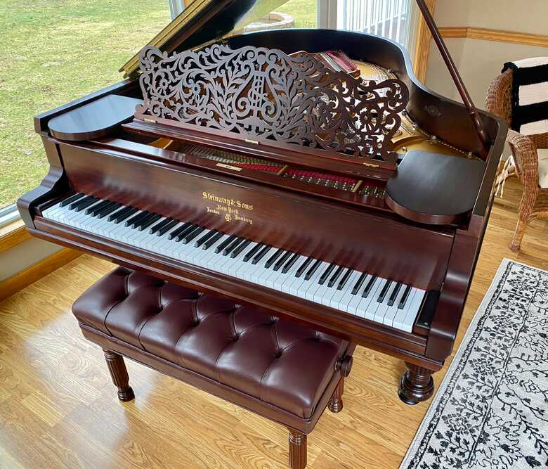 1896 Steinway Model A - Victorian Style