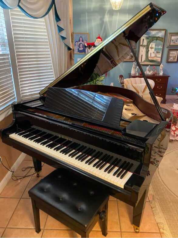 Kawai GE-30 Grand Piano - black