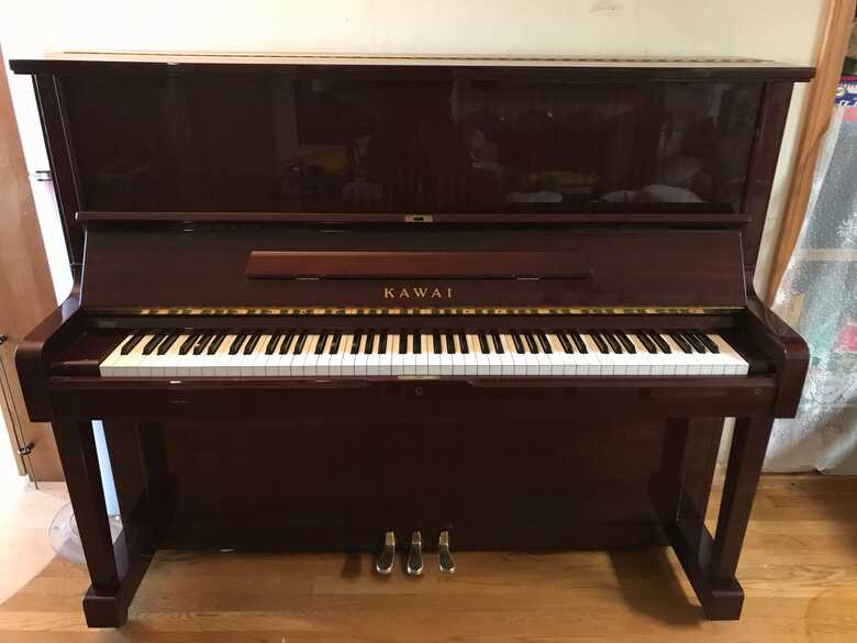 Beautiful Kawai Mahogany Upright + Piano Chair