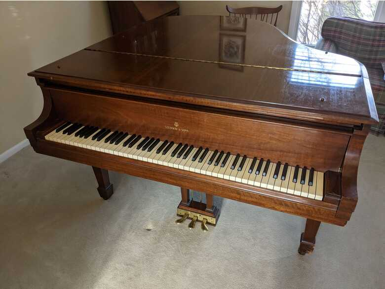1953 Steinway model S - lightly played