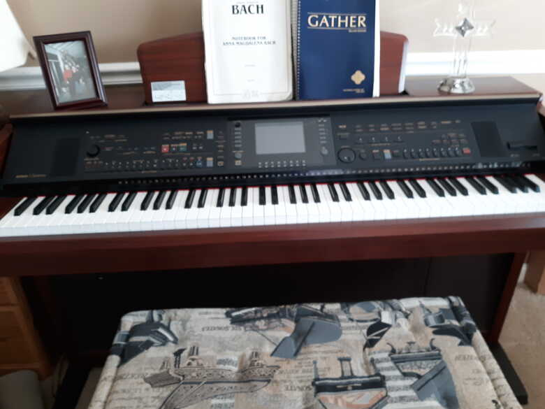 Yamaha Digital Piano In Like New Condition