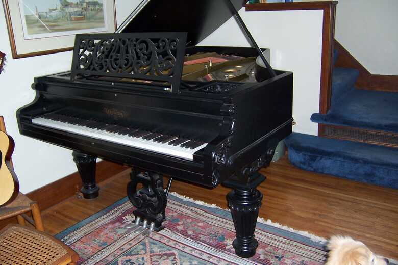 1890 Chickering Parlor Grand