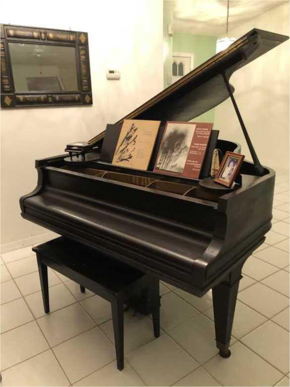 Rebecca LaBrecque, published pianist's M&H piano