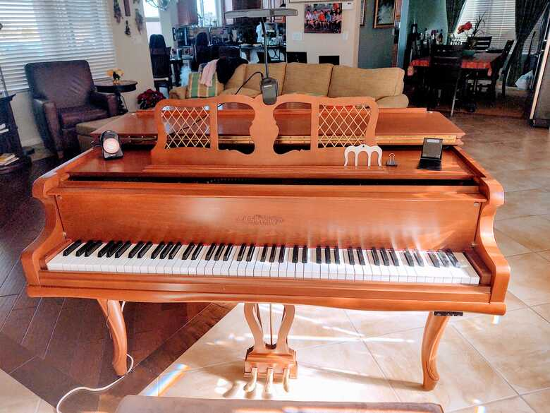 Completely rebuilt Chickering Baby Grand like new