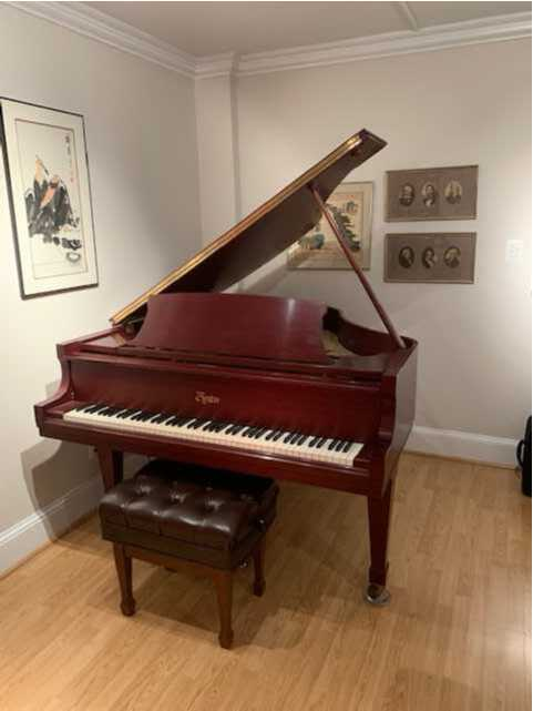 Boston Grand Piano - GP-163 - Steinway & Sons