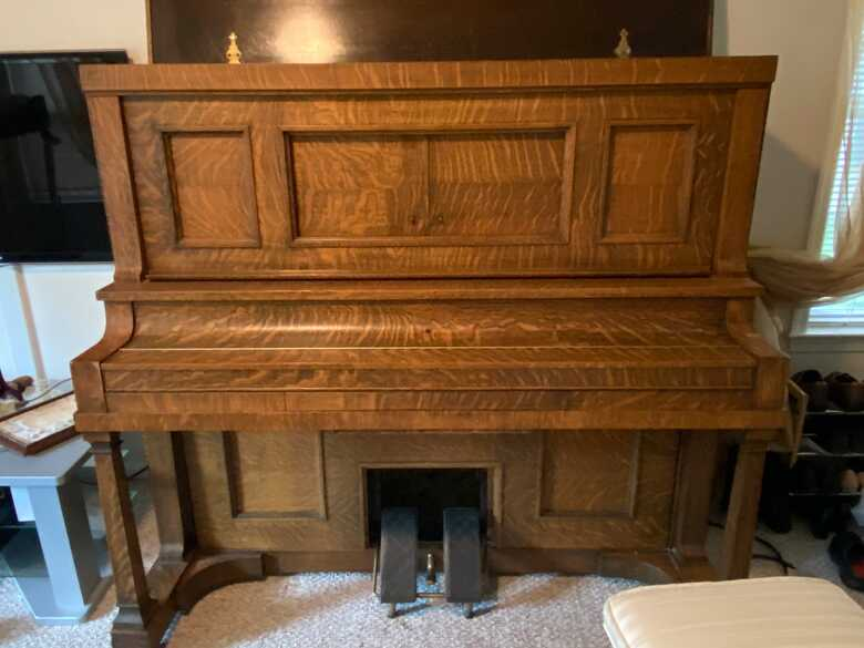 1913 SW Miller Player Piano