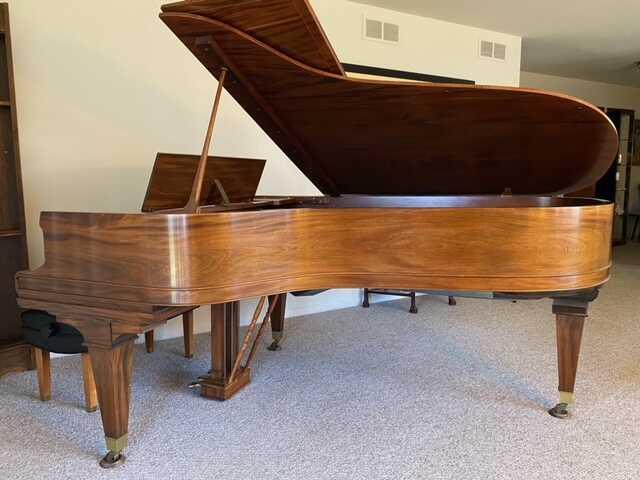 Beautiful Restored Mason & Hamlin grand piano