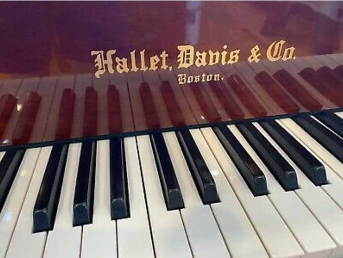 2006 Hallet Davis Baby Grand Piano