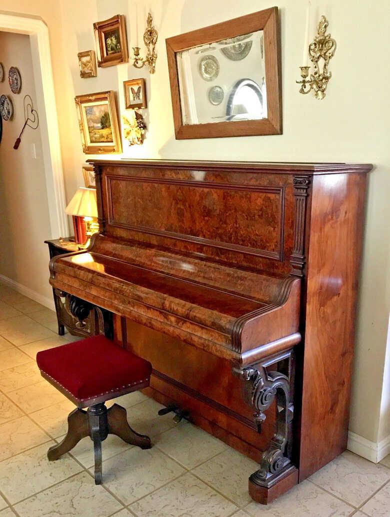 Conrad Krause (Berlin) 1894 Piano No. 3896