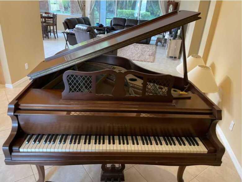 1967 Beautiful Baby Grande Wm Knabe piano