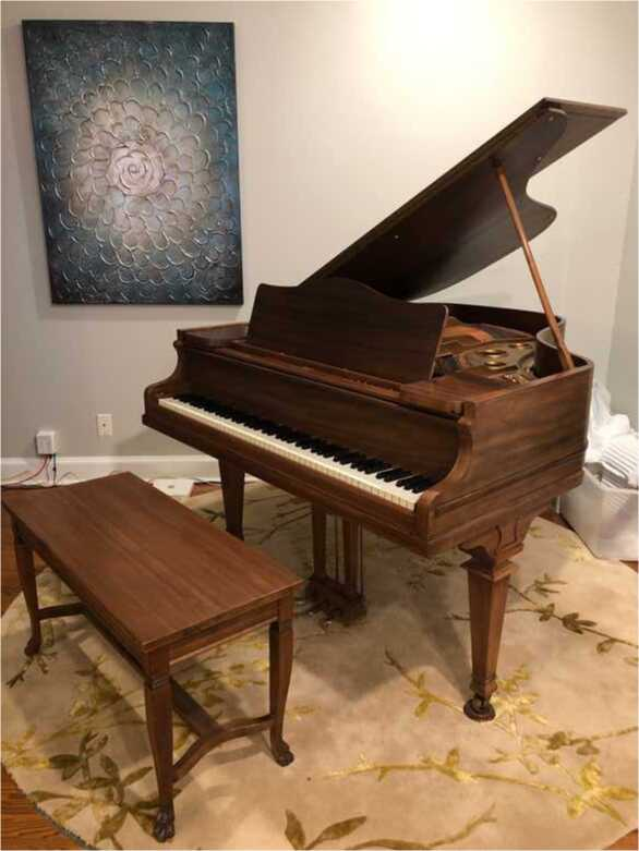 Beautiful petite baby grand that fits most any home