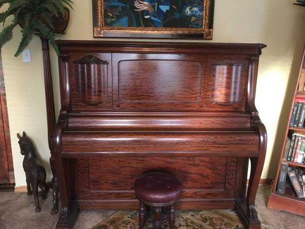 Claw foot piano @1908