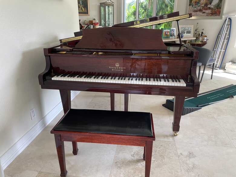 Story and Clark Grand Piano
