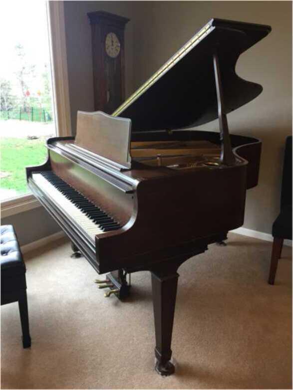 Wm Knabe Grand Piano