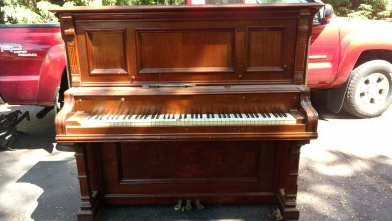 Behning & Sons Upright Piano