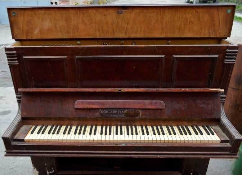 German trophy piano Köhlers Pianohaus Walter Pilling