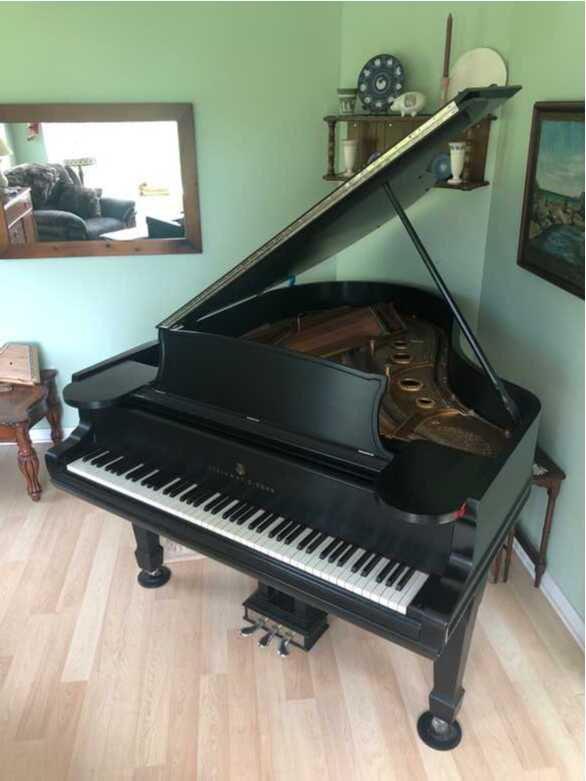 1895 Steinway Grand Piano, Model A, Restored