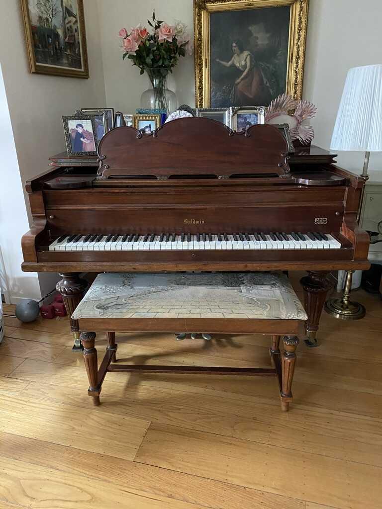 Antique Grand Baldwin Piano